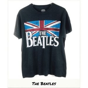 Beatles Top | The Union Jack Graphic Band Tee